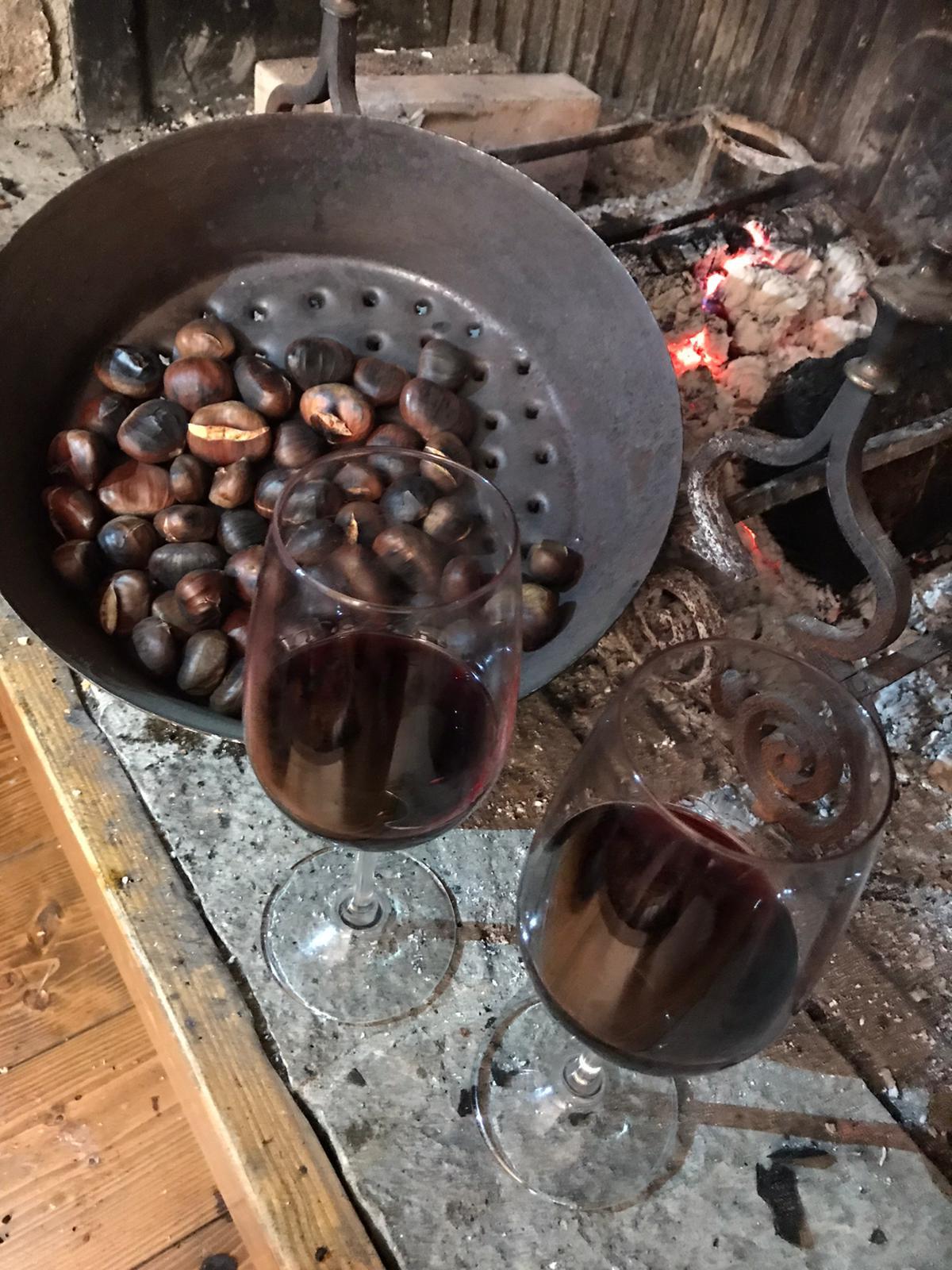 Abbinamento Vino e Caldarroste