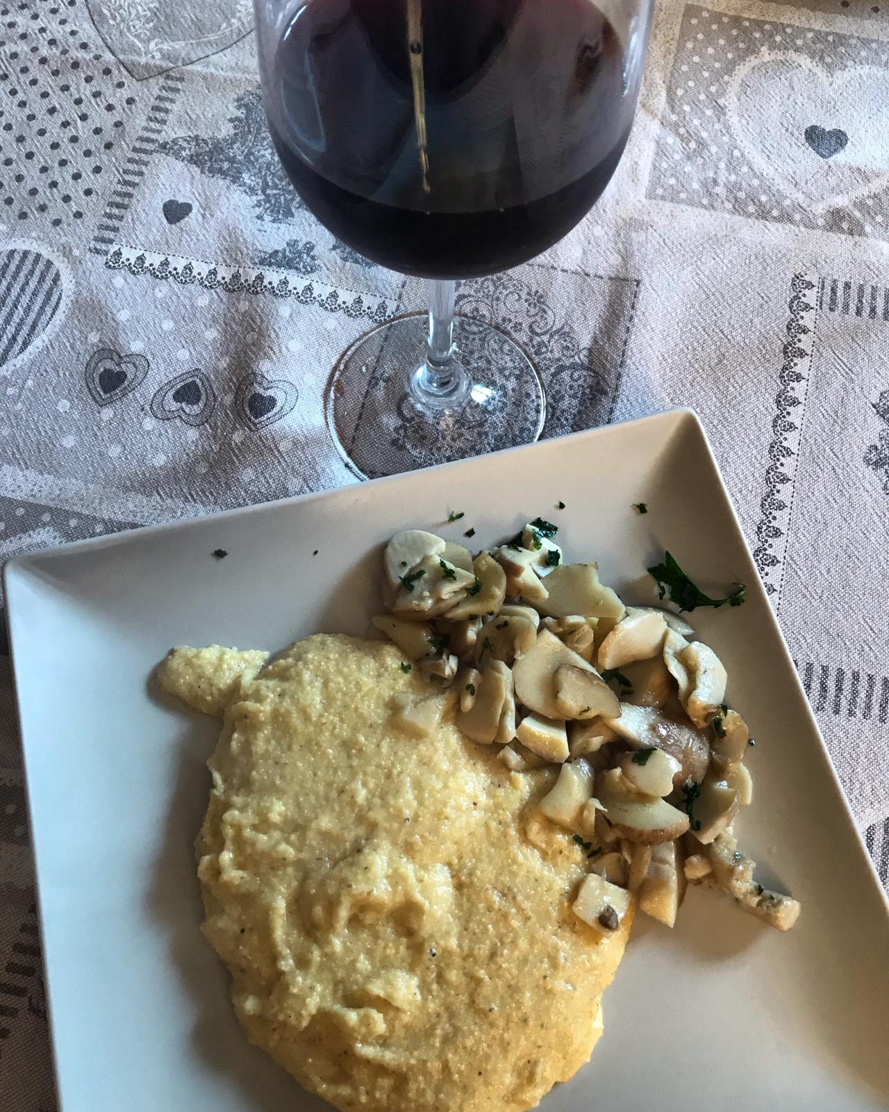 Abbinamento Vino e Polenta Taragna