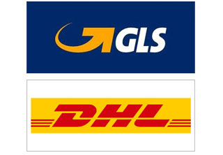 GLS and DHL our couriers